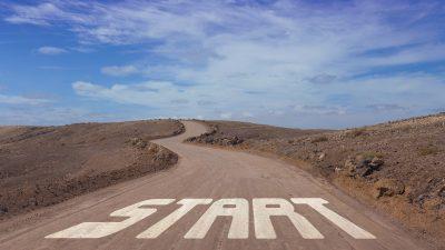 beginnen-start