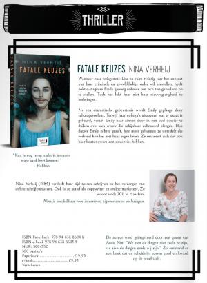 Hamley Books najaar 2019 - Fatale keuzes