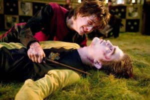 Harry Potter & Cedric Diggory in Harry Potter and the Goblet of Fire